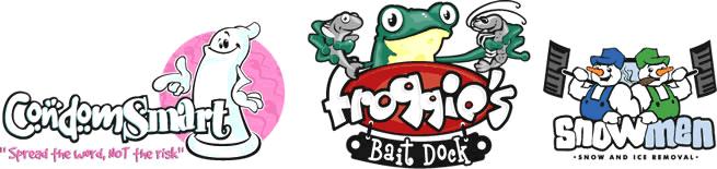 Ý tưởng mẫu thiết kế logo hoạt hình cho doanh nghiệp