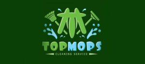 Mẫu thiết kế logo dịch vụ làm sạch TopMops